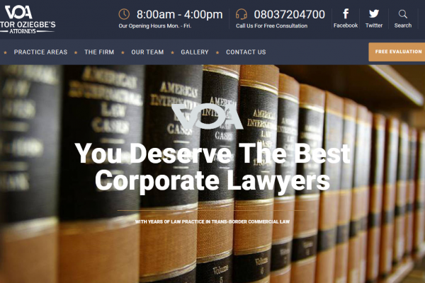 Homepage Top_Victor Oziegbe Attorneys
